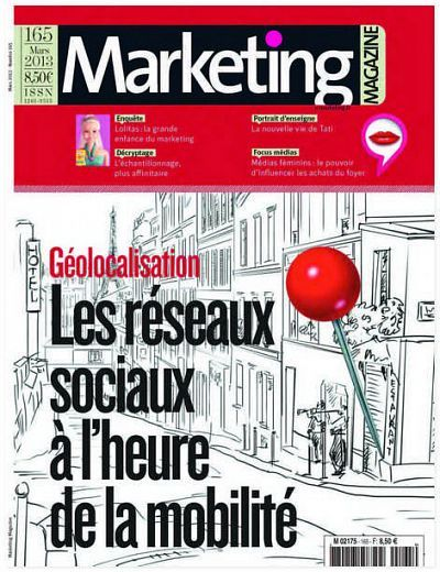 Marketing Magazine N°165 Mars 2013