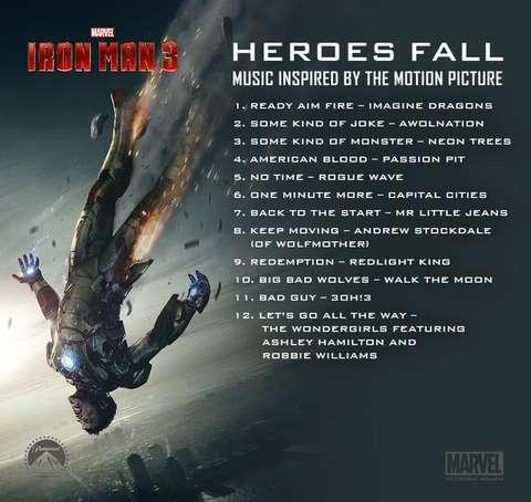 HEROESFALL IRONMAN3 OST SOMDIRETO
