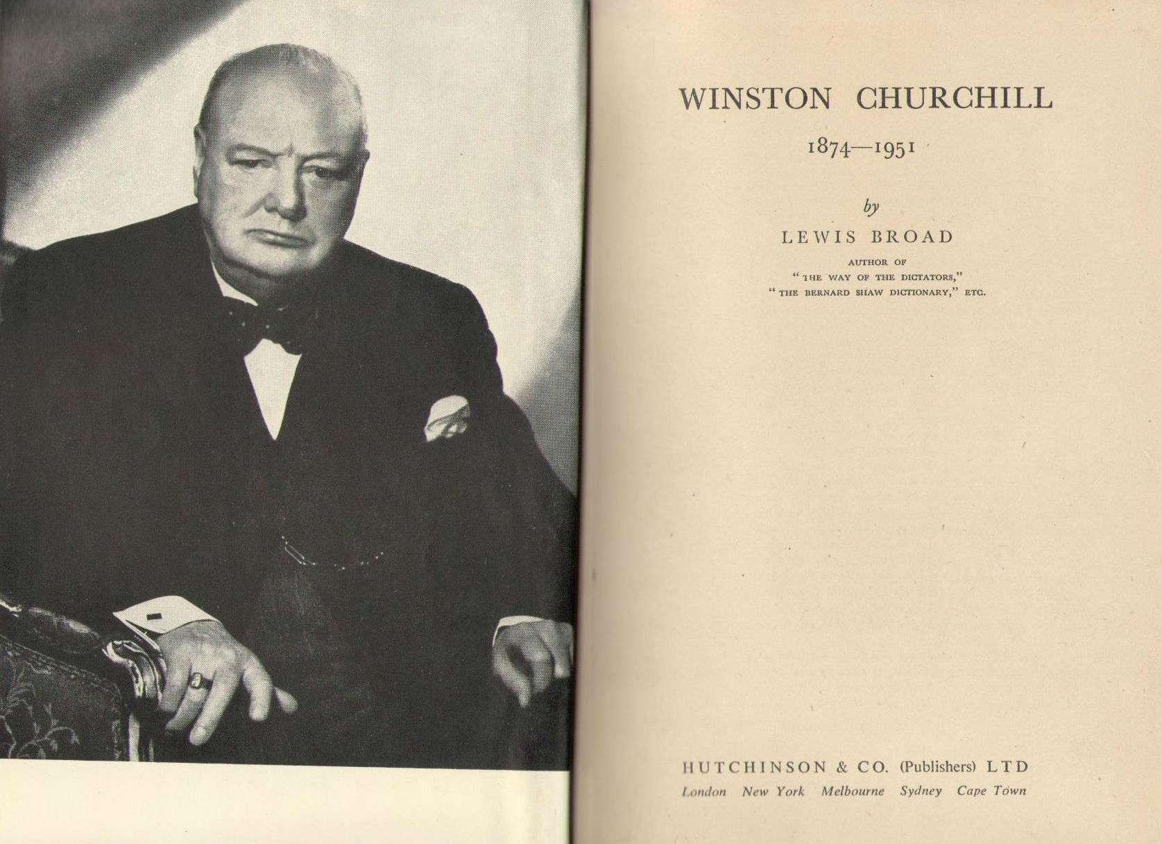 Winston Churchill 1874 - 1951