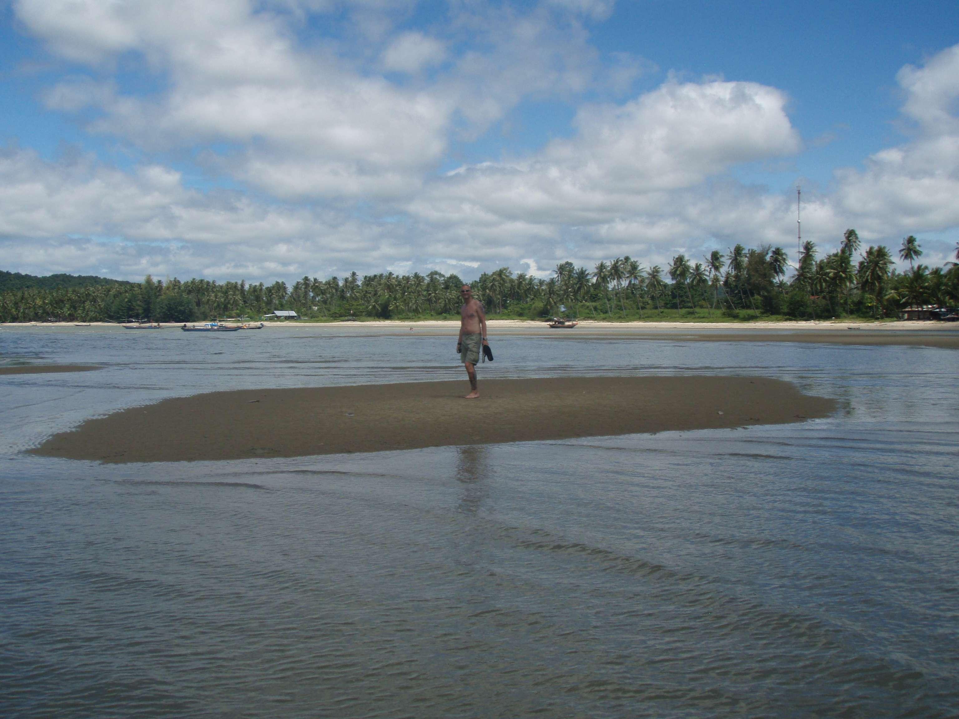 wollen eine Insel kaufen, die 20 Minuten später verschwunden ist...