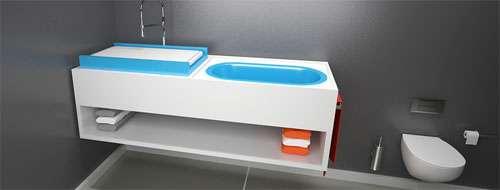 ba os infantiles. Black Bedroom Furniture Sets. Home Design Ideas