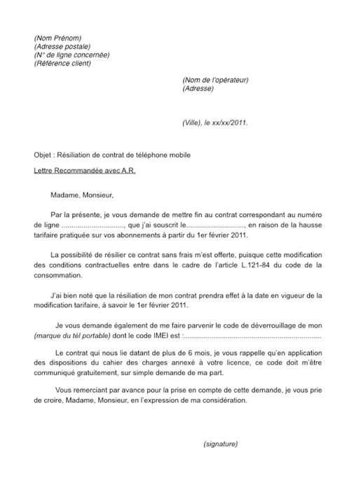 lettre de résiliation en anglais Bug des SMS, Orange et Bouygues se renvoient la balle   Forums  lettre de résiliation en anglais