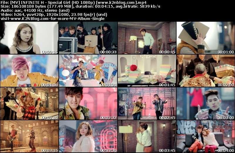 [MV] INFINITE H - Special Girl (HD 1080p Youtube)